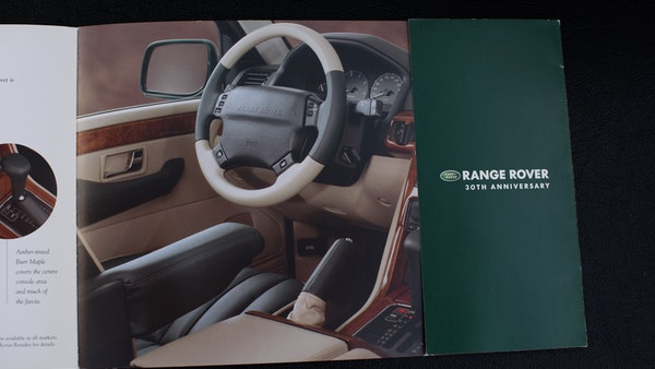 2001 Range Rover P38 30th Anniversary Edition For Sale (picture 106 of 124)
