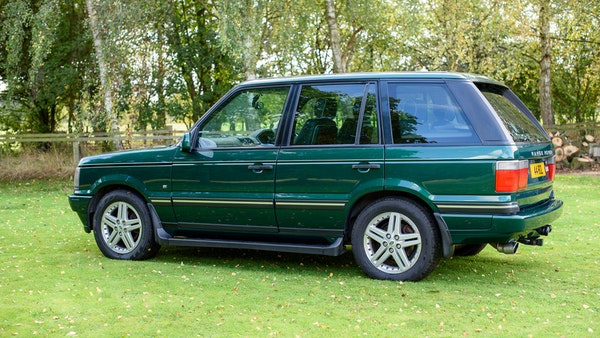 2001 Range Rover P38 30th Anniversary Edition For Sale (picture 10 of 124)