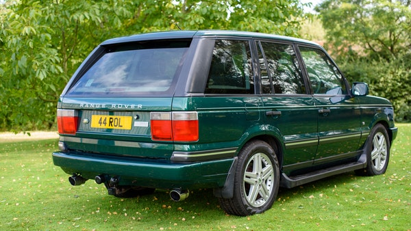 2001 Range Rover P38 30th Anniversary Edition For Sale (picture 4 of 124)