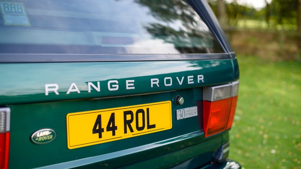 2001 Range Rover P38 30th Anniversary Edition For Sale (picture 90 of 124)