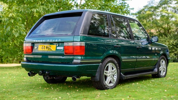 2001 Range Rover P38 30th Anniversary Edition For Sale (picture 13 of 124)