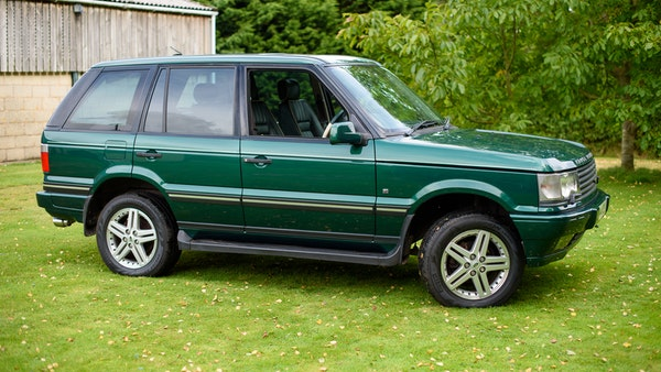 2001 Range Rover P38 30th Anniversary Edition For Sale (picture 17 of 124)