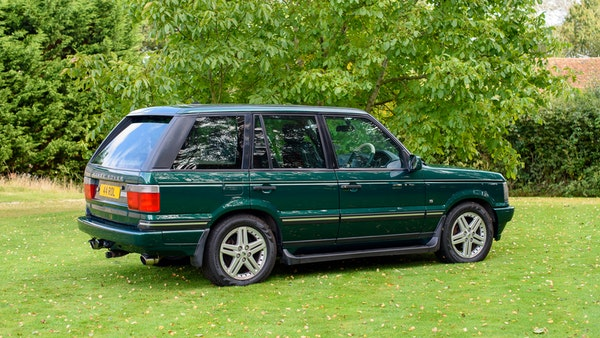 2001 Range Rover P38 30th Anniversary Edition For Sale (picture 14 of 124)