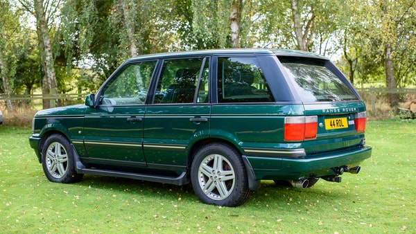 2001 Range Rover P38 30th Anniversary Edition For Sale (picture 11 of 124)