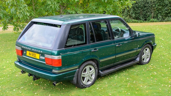 2001 Range Rover P38 30th Anniversary Edition For Sale (picture 26 of 124)