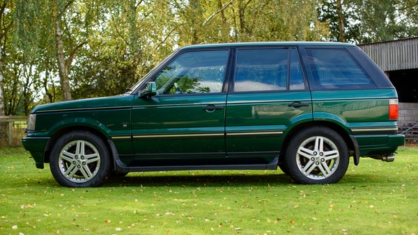 2001 Range Rover P38 30th Anniversary Edition For Sale (picture 9 of 124)