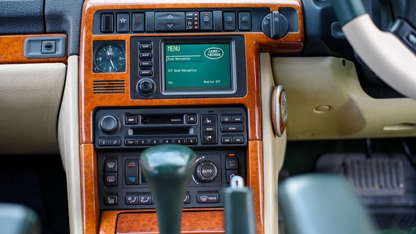2001 Range Rover P38 30th Anniversary Edition For Sale (picture 44 of 124)