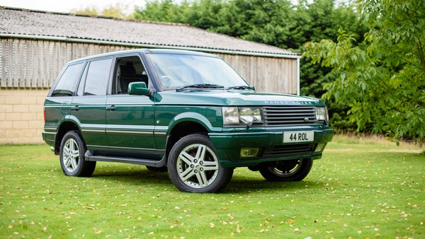 2001 Range Rover P38 30th Anniversary Edition For Sale (picture 18 of 124)