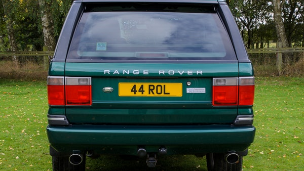 2001 Range Rover P38 30th Anniversary Edition For Sale (picture 12 of 124)