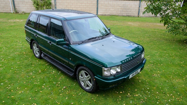 2001 Range Rover P38 30th Anniversary Edition For Sale (picture 25 of 124)