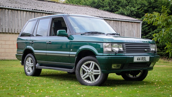 2001 Range Rover P38 30th Anniversary Edition For Sale (picture 1 of 124)