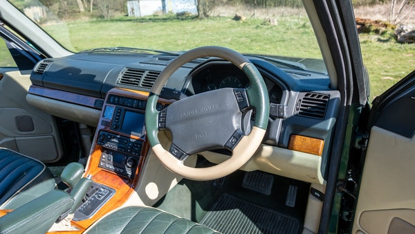 2001 Range Rover P38 30th Anniversary Edition For Sale (picture 16 of 103)