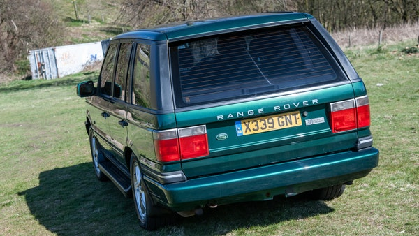 2001 Range Rover P38 30th Anniversary Edition For Sale (picture 4 of 103)