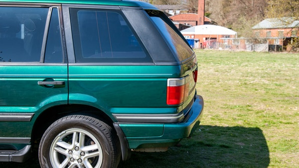 2001 Range Rover P38 30th Anniversary Edition For Sale (picture 68 of 103)