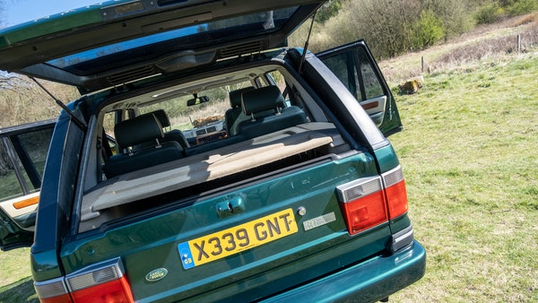 2001 Range Rover P38 30th Anniversary Edition For Sale (picture 87 of 103)