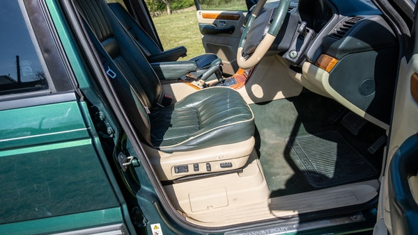 2001 Range Rover P38 30th Anniversary Edition For Sale (picture 45 of 103)