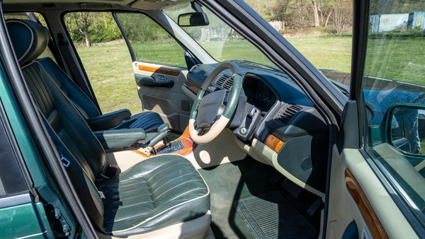 2001 Range Rover P38 30th Anniversary Edition For Sale (picture 15 of 103)