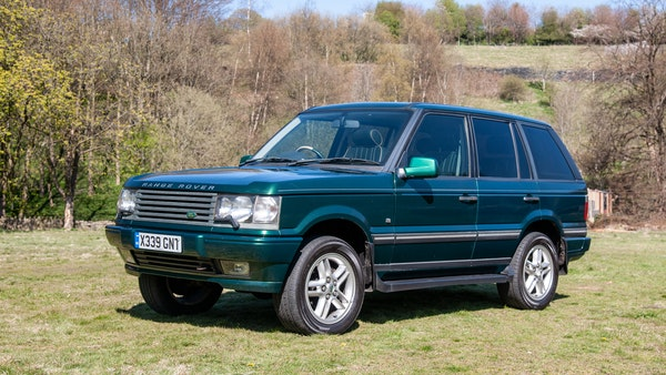 2001 Range Rover P38 30th Anniversary Edition For Sale (picture 3 of 103)