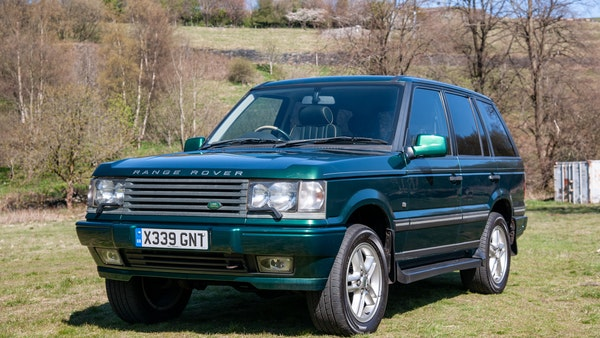 2001 Range Rover P38 30th Anniversary Edition For Sale (picture 1 of 103)