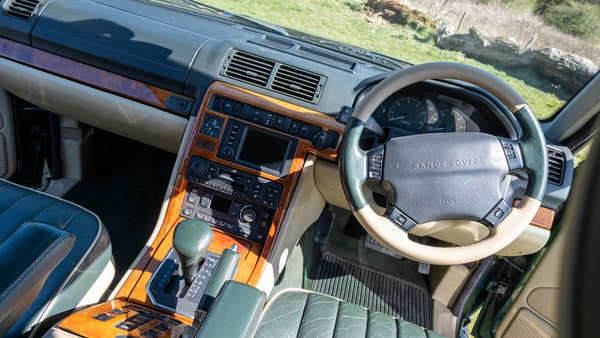2001 Range Rover P38 30th Anniversary Edition For Sale (picture 17 of 103)