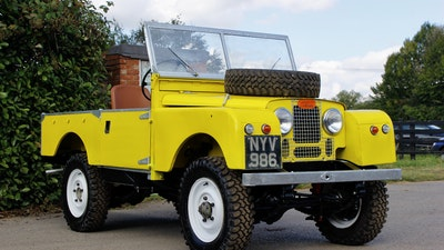 """1955 Land Rover Series 1 86"""""""
