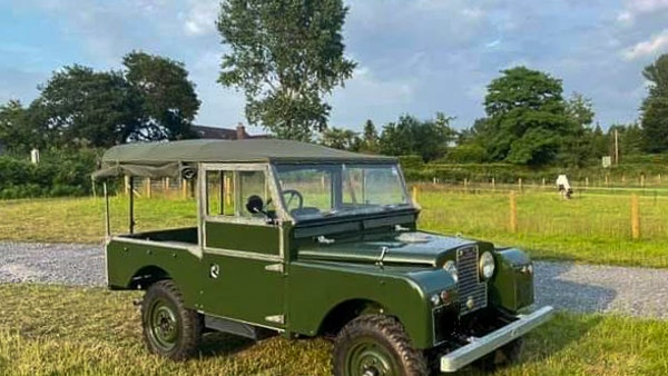 """1956 Land Rover 86"""" Series One For Sale (picture 240 of 243)"""