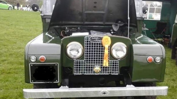 """1956 Land Rover 86"""" Series One For Sale (picture 241 of 243)"""