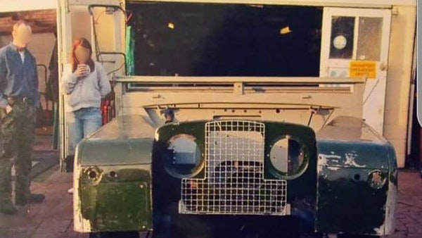 """1956 Land Rover 86"""" Series One For Sale (picture 243 of 243)"""