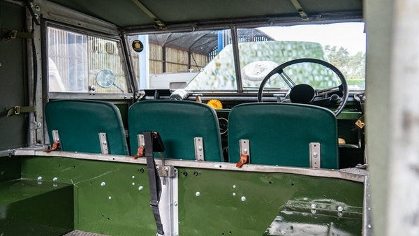 """1956 Land Rover 86"""" Series One For Sale (picture 171 of 243)"""