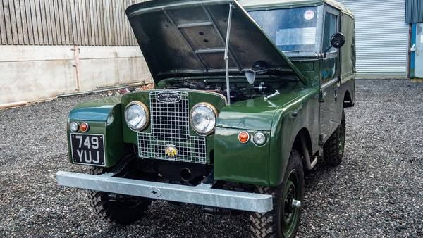 """1956 Land Rover 86"""" Series One For Sale (picture 10 of 243)"""