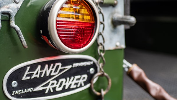 """1956 Land Rover 86"""" Series One For Sale (picture 50 of 243)"""