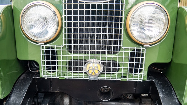 """1956 Land Rover 86"""" Series One For Sale (picture 132 of 243)"""