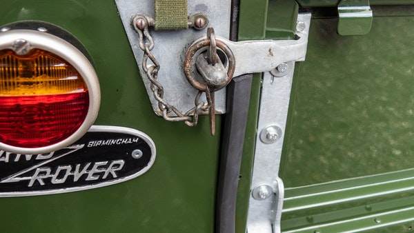 """1956 Land Rover 86"""" Series One For Sale (picture 102 of 243)"""