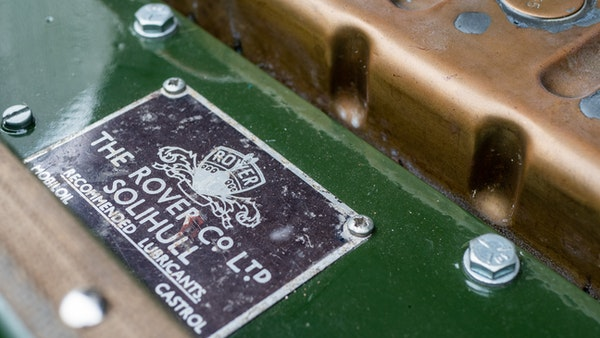 """1956 Land Rover 86"""" Series One For Sale (picture 117 of 243)"""