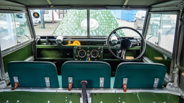 """1956 Land Rover 86"""" Series One For Sale (picture 44 of 243)"""