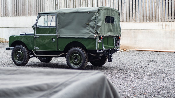 """1956 Land Rover 86"""" Series One For Sale (picture 64 of 243)"""