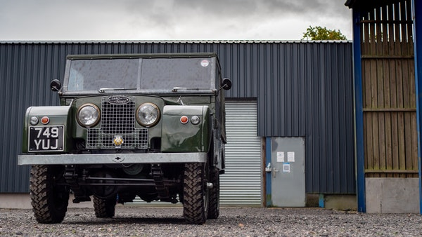 """1956 Land Rover 86"""" Series One For Sale (picture 62 of 243)"""