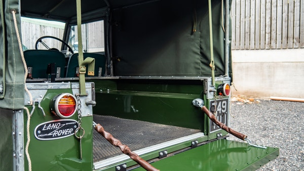 """1956 Land Rover 86"""" Series One For Sale (picture 177 of 243)"""