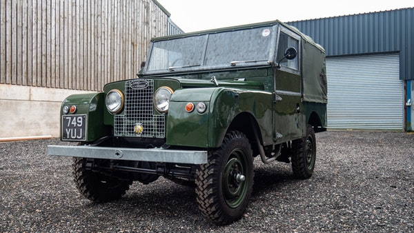 """1956 Land Rover 86"""" Series One For Sale (picture 1 of 243)"""
