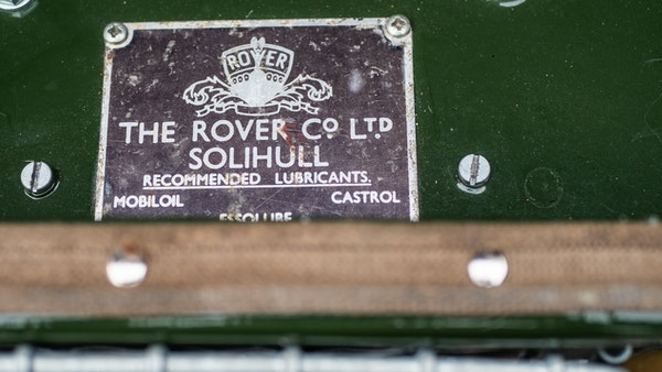 """1956 Land Rover 86"""" Series One For Sale (picture 182 of 243)"""