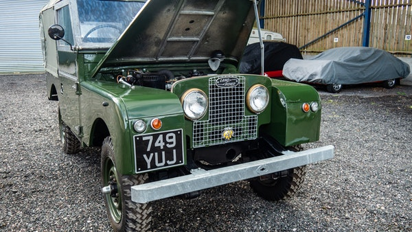 """1956 Land Rover 86"""" Series One For Sale (picture 13 of 243)"""
