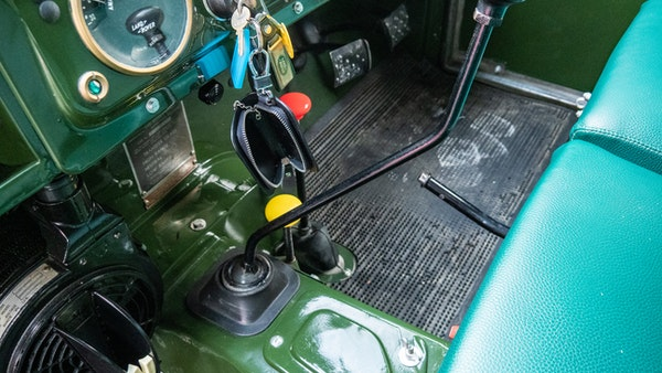 """1956 Land Rover 86"""" Series One For Sale (picture 35 of 243)"""