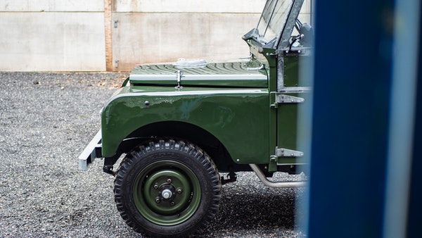 """1956 Land Rover 86"""" Series One For Sale (picture 63 of 243)"""