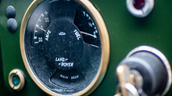 """1956 Land Rover 86"""" Series One For Sale (picture 47 of 243)"""