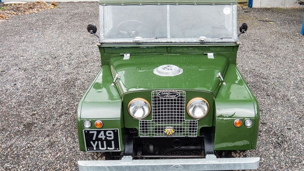 """1956 Land Rover 86"""" Series One For Sale (picture 134 of 243)"""