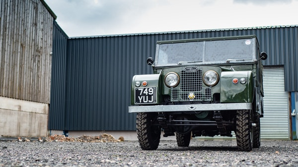 """1956 Land Rover 86"""" Series One For Sale (picture 4 of 243)"""