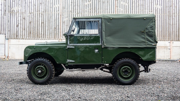 """1956 Land Rover 86"""" Series One For Sale (picture 5 of 243)"""