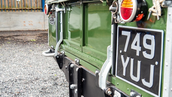 """1956 Land Rover 86"""" Series One For Sale (picture 145 of 243)"""