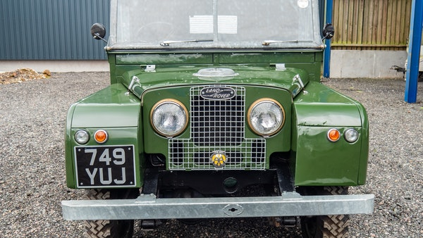 """1956 Land Rover 86"""" Series One For Sale (picture 11 of 243)"""