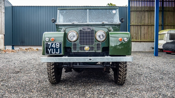 """1956 Land Rover 86"""" Series One For Sale (picture 65 of 243)"""